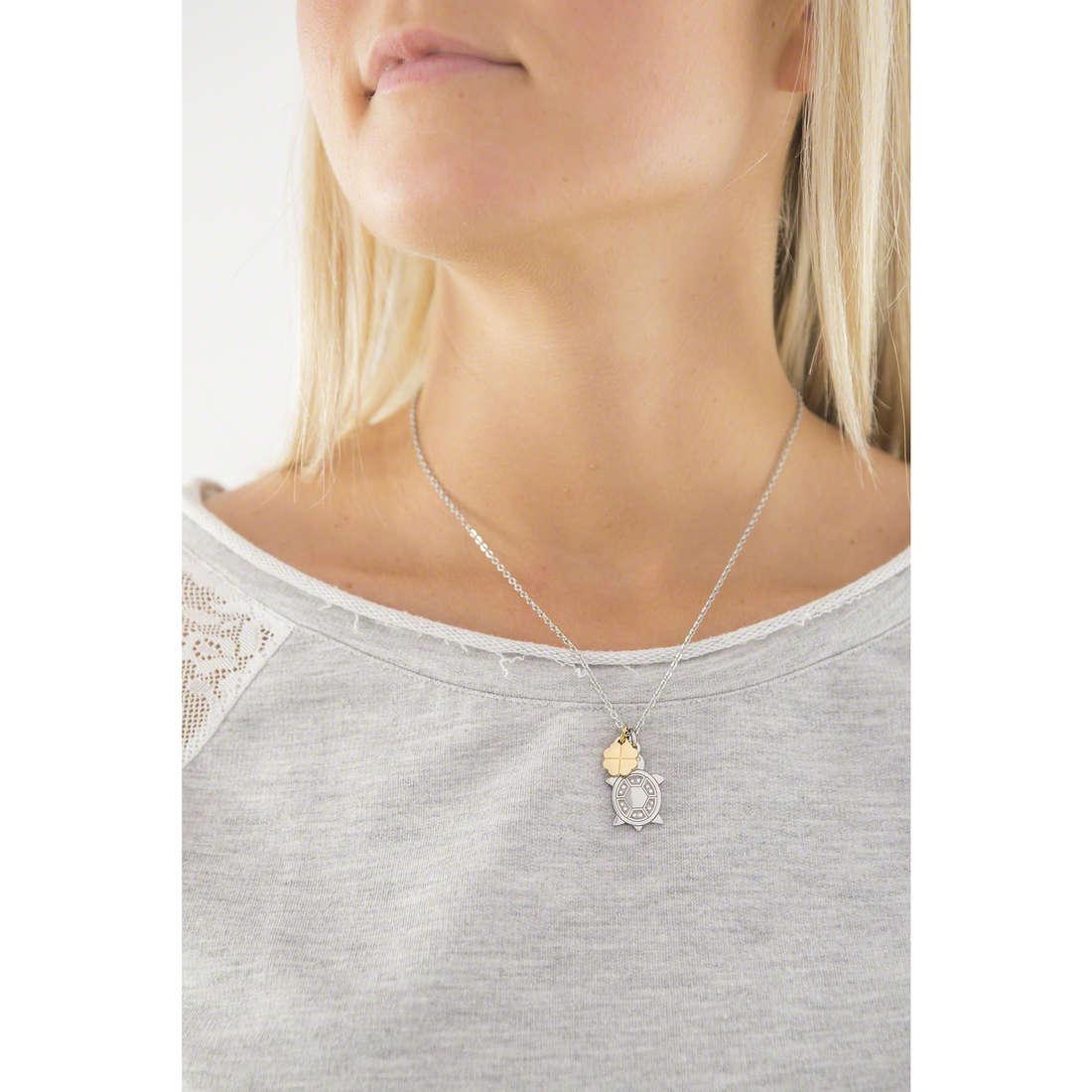 Sagapò necklaces Blinky woman SBK08 indosso