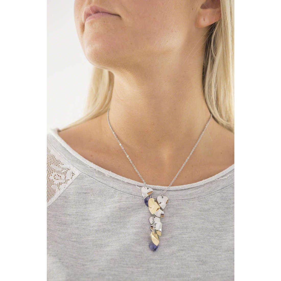 Sagapò necklaces Drops woman SPS01 indosso