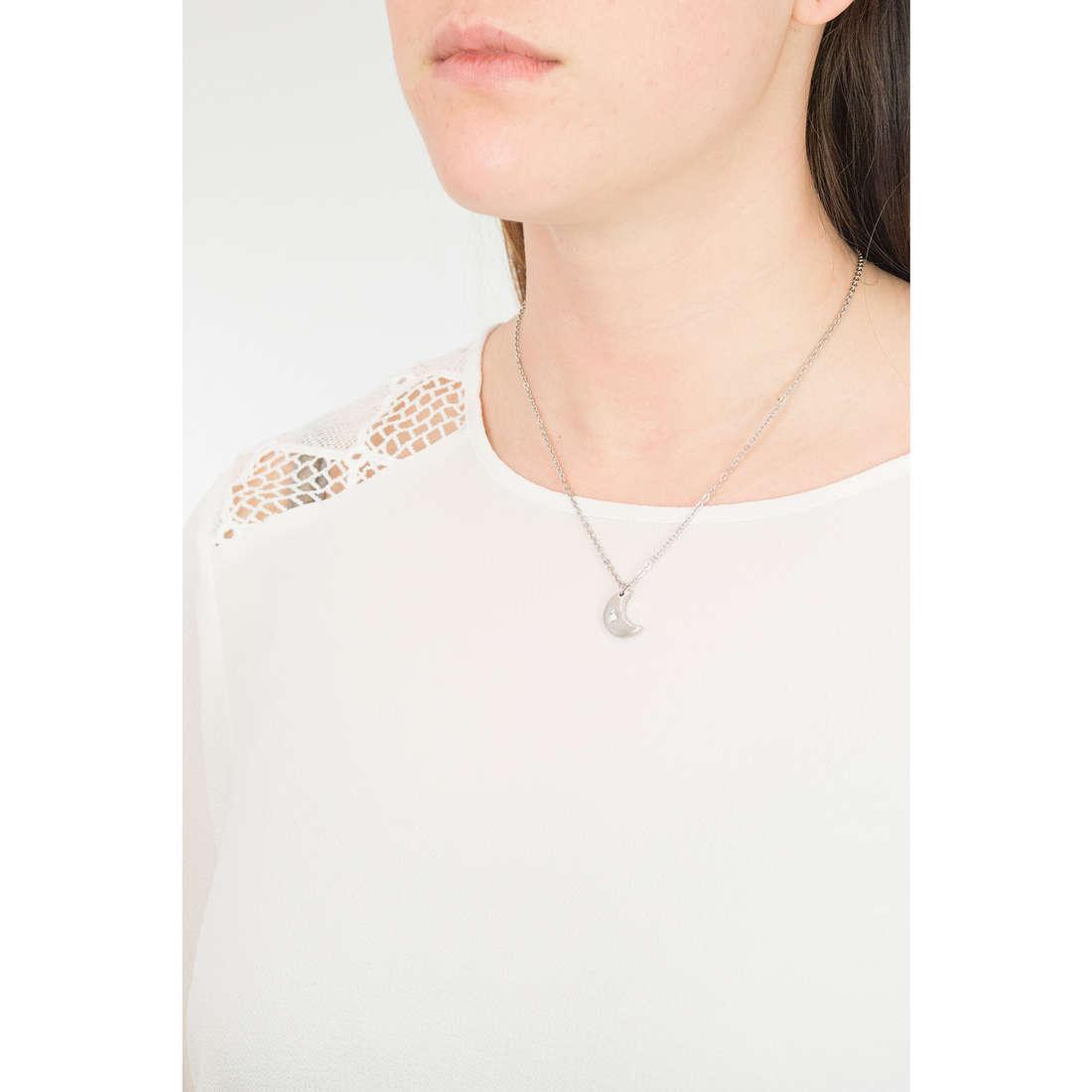 Sagapò necklaces Estrella woman SRE01 indosso
