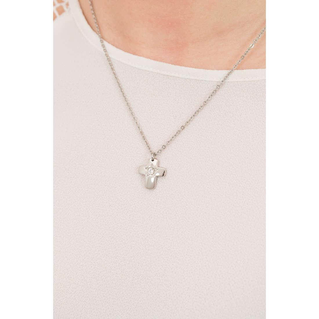 Sagapò necklaces Estrella woman SRE05 indosso