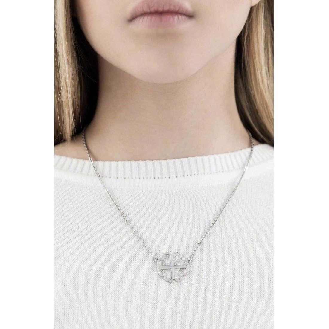 Sagapò necklaces Fantasia woman SFS01 indosso