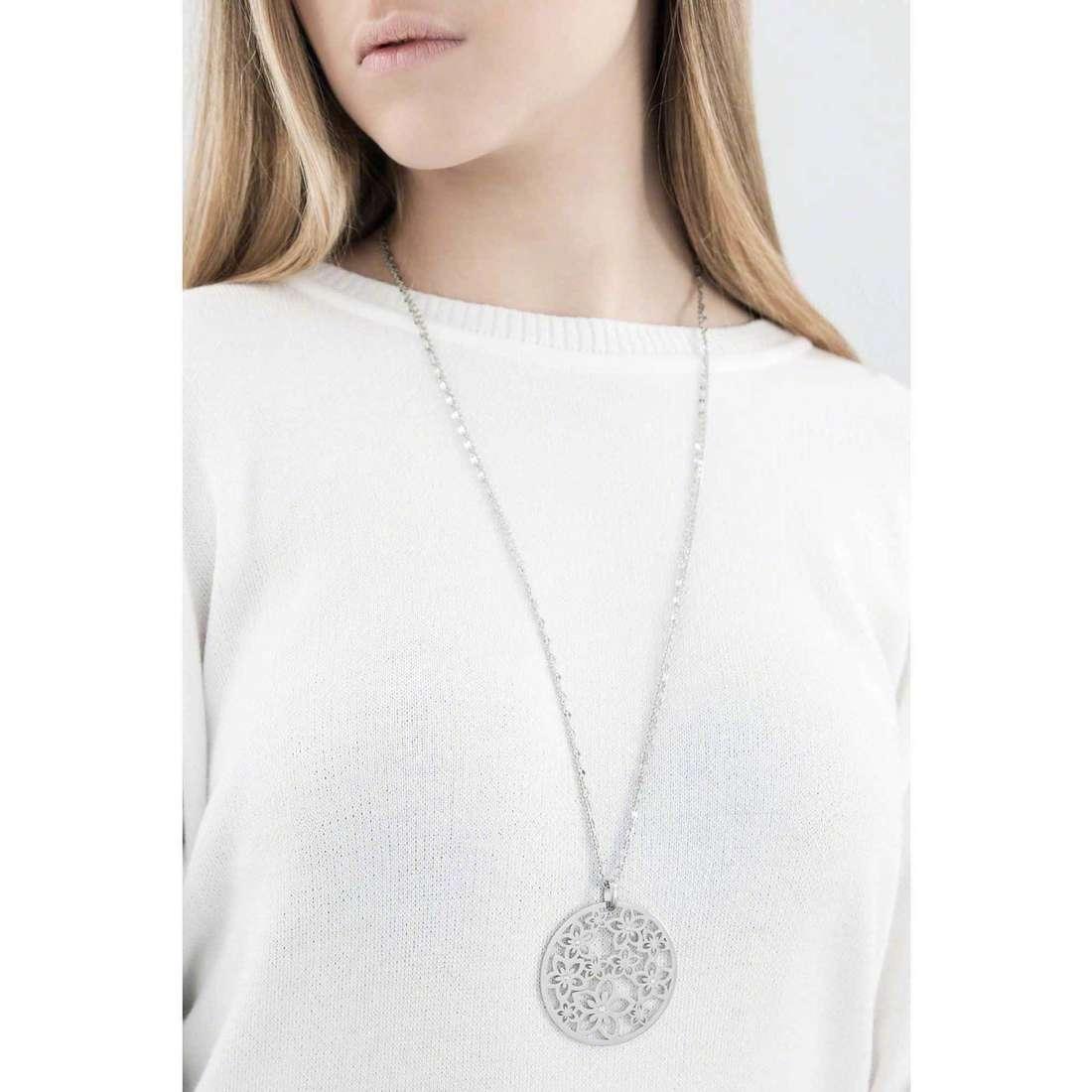 Sagapò necklaces Flower woman SFL01 indosso