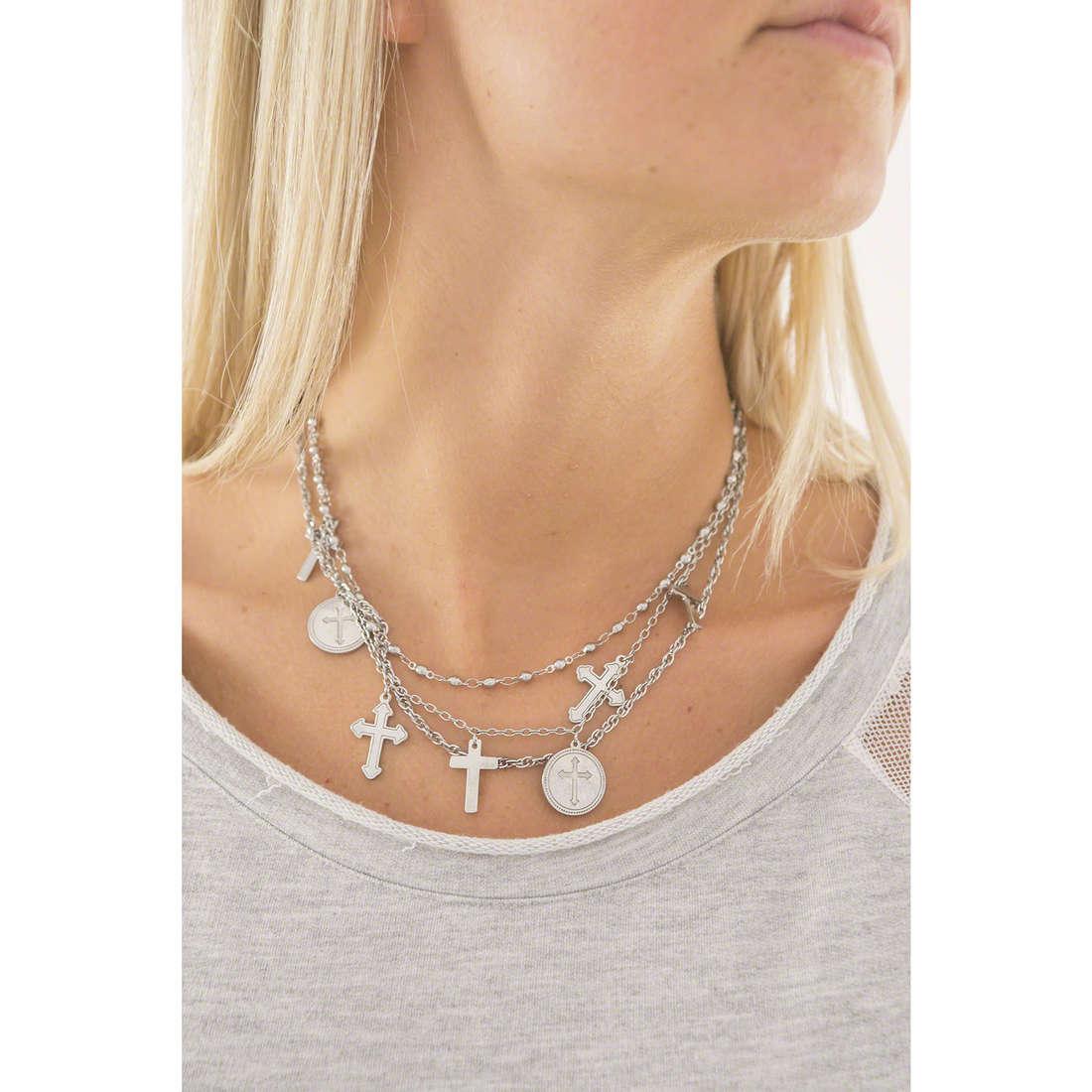 Sagapò necklaces Gotika woman SGT01 indosso