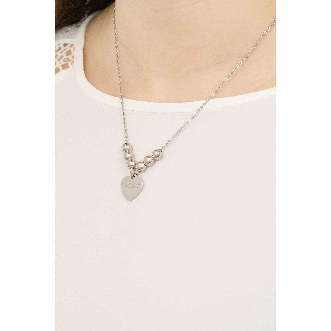 Sagapò necklaces HAPPY woman SHAC13 indosso