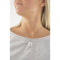 necklace woman jewellery Sagapò LetteRing SLR01
