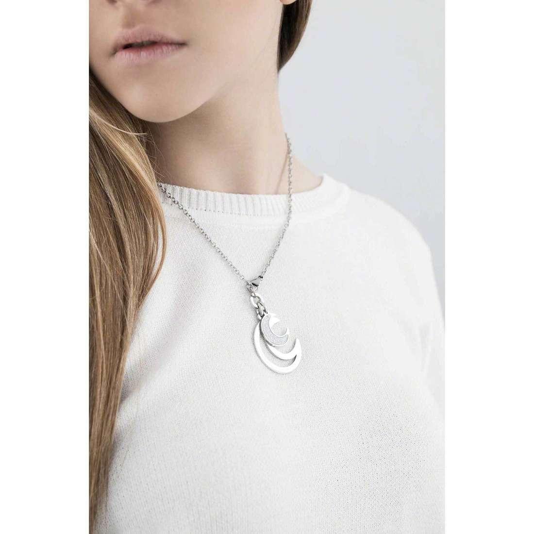 Sagapò necklaces Moonlight woman SML02 indosso