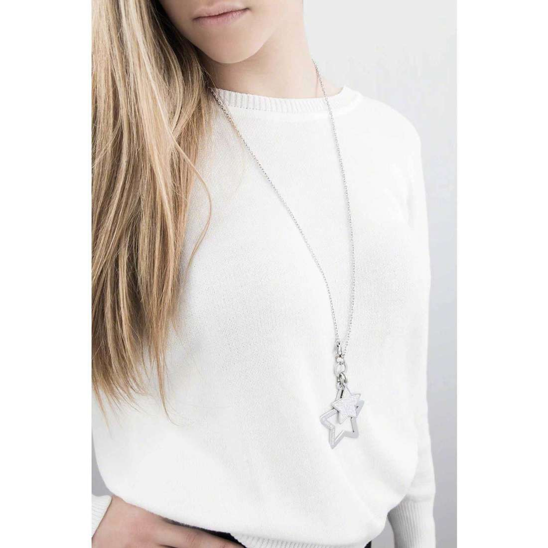 Sagapò necklaces Moonlight woman SML03 indosso