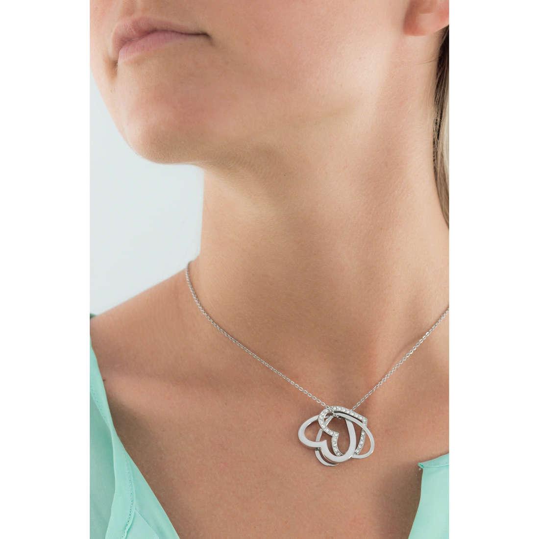 Sagapò necklaces Triniheart woman STH03 indosso