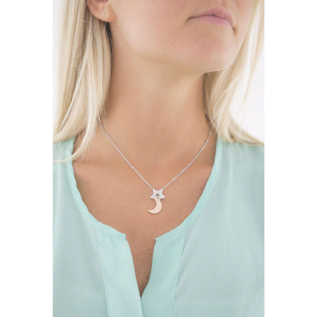 Sector necklaces Family & Friends woman SACG27 indosso