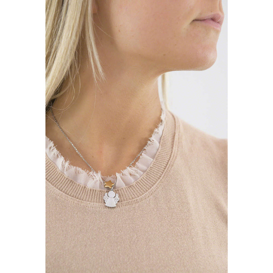 Sector necklaces Family & Friends woman SACG33 indosso
