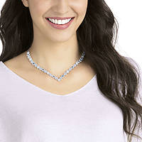 necklace woman jewellery Swarovski Angelic Square 5294621