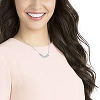 necklace woman jewellery Swarovski Angelic Square 5294622