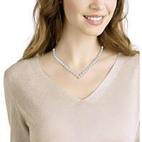 necklace woman jewellery Swarovski Angelic Square 5368145