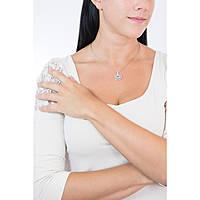 necklace woman jewellery Swarovski Circle 681251