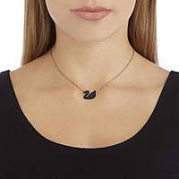 necklace woman jewellery Swarovski Iconic Swan 5204134