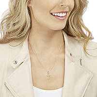 necklace woman jewellery Swarovski Mini Cross 5278296