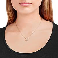 necklace woman jewellery Swarovski Swan 5121597
