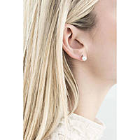 Ohrringen frau Schmuck Comete Perla ORP 543