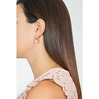 Ohrringen frau Schmuck Rebecca Hollywood Stone BHSORQ02
