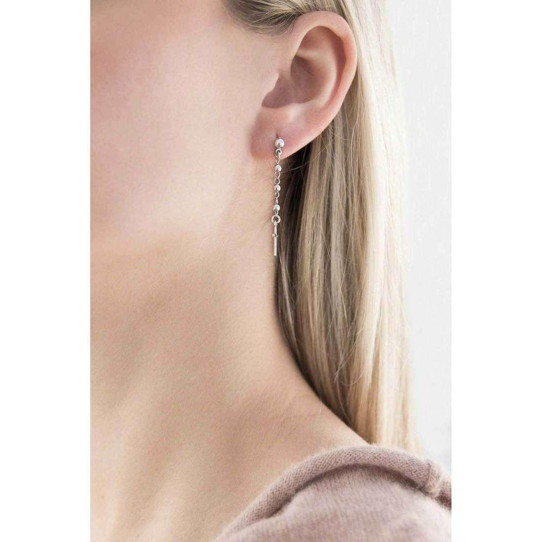 Amen orecchini Rosario donna OROB1 indosso