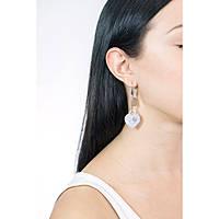 orecchini donna gioielli Bliss Glittermania 20077678