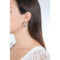 orecchini donna gioielli Breil Mezzanotte TJ2187