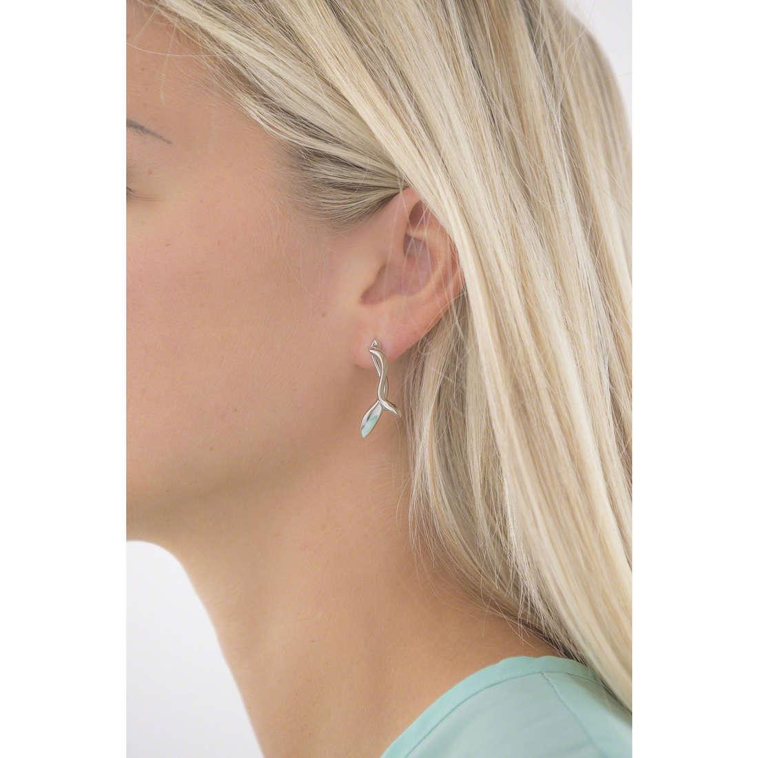 Breil orecchini donna TJ1952 indosso