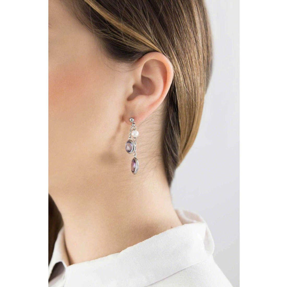Brosway orecchini Catherine donna BCA21 indosso