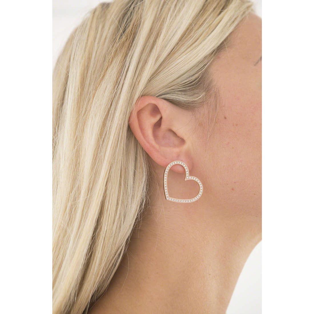 Brosway orecchini Minuetto donna BMU22 indosso