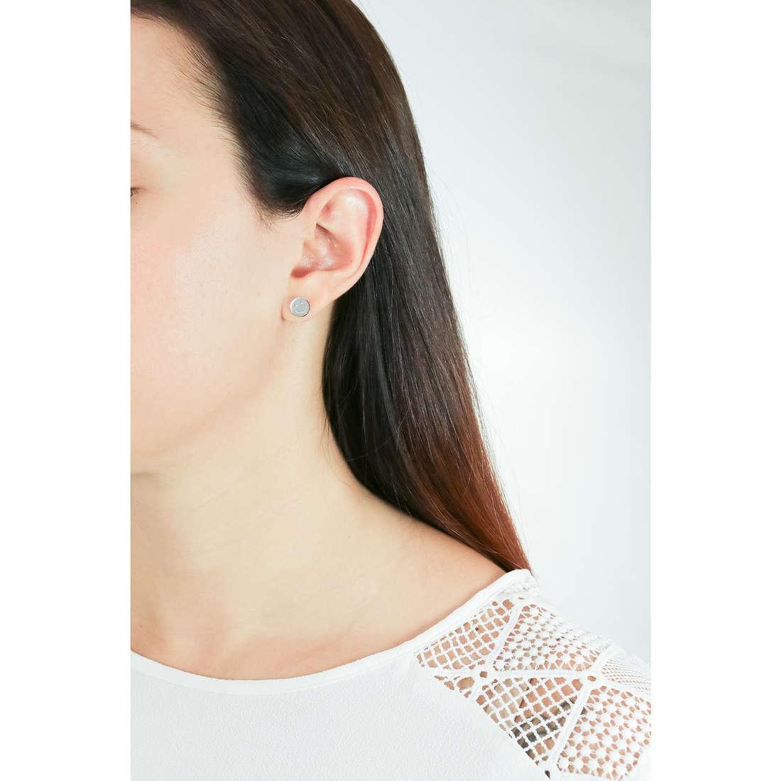 Comete orecchini Love Tag donna ORA 119 indosso