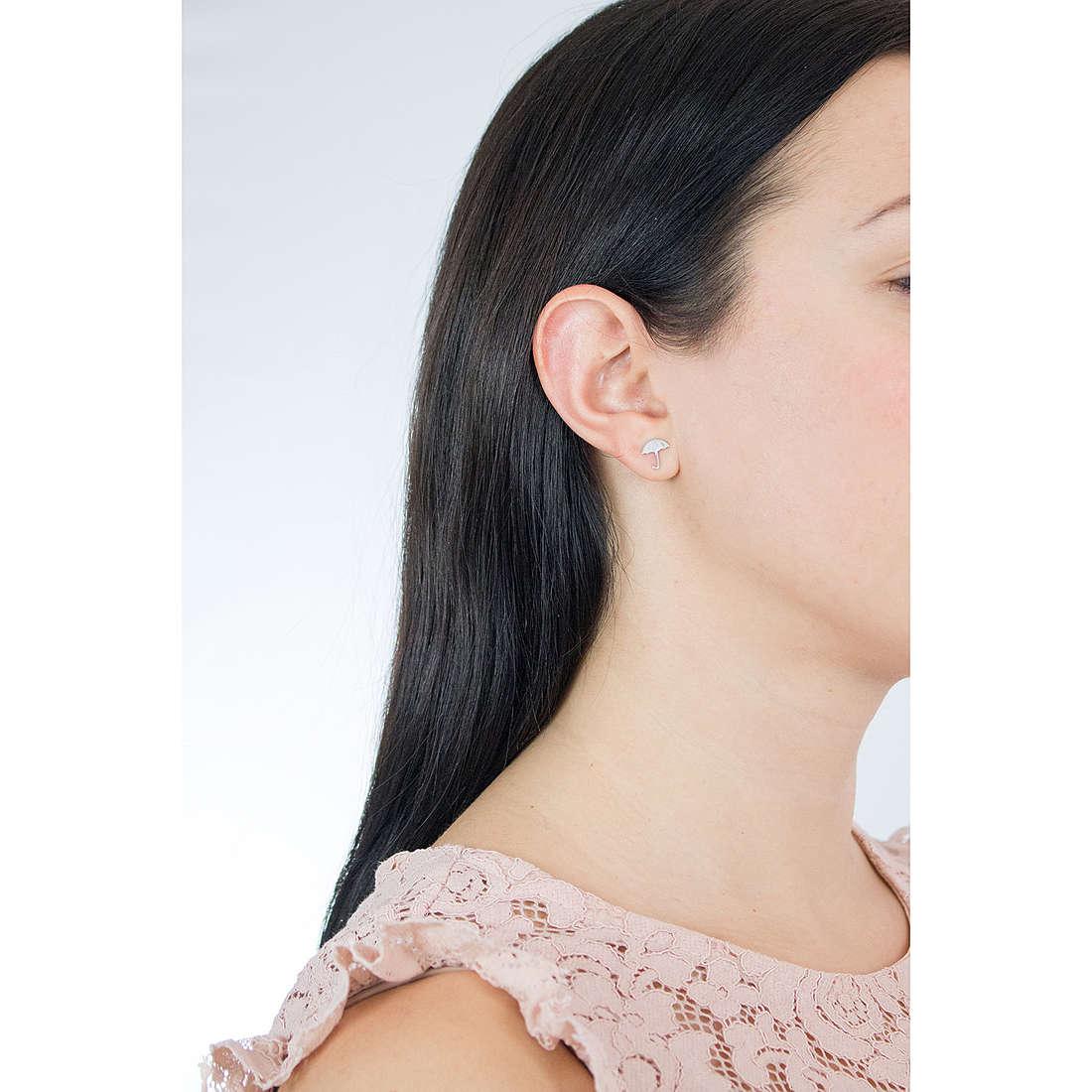 Comete orecchini Love Tag donna ORA 122 indosso