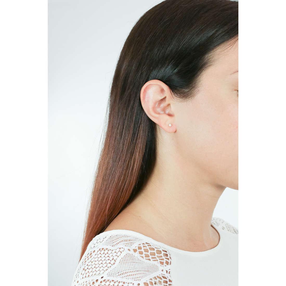 Comete orecchini Easy Basic donna ORP 553 indosso