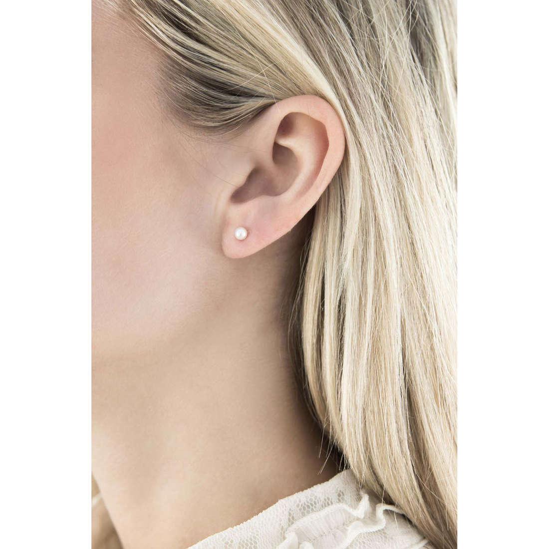 Comete orecchini Easy Basic donna ORP 556 indosso