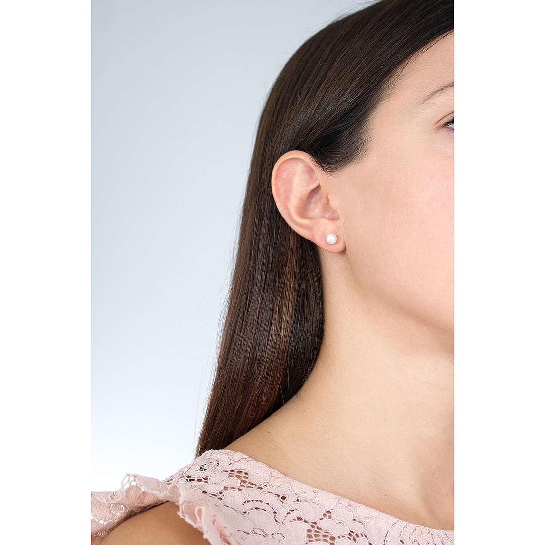 Comete orecchini Easy Basic donna ORP 558 indosso