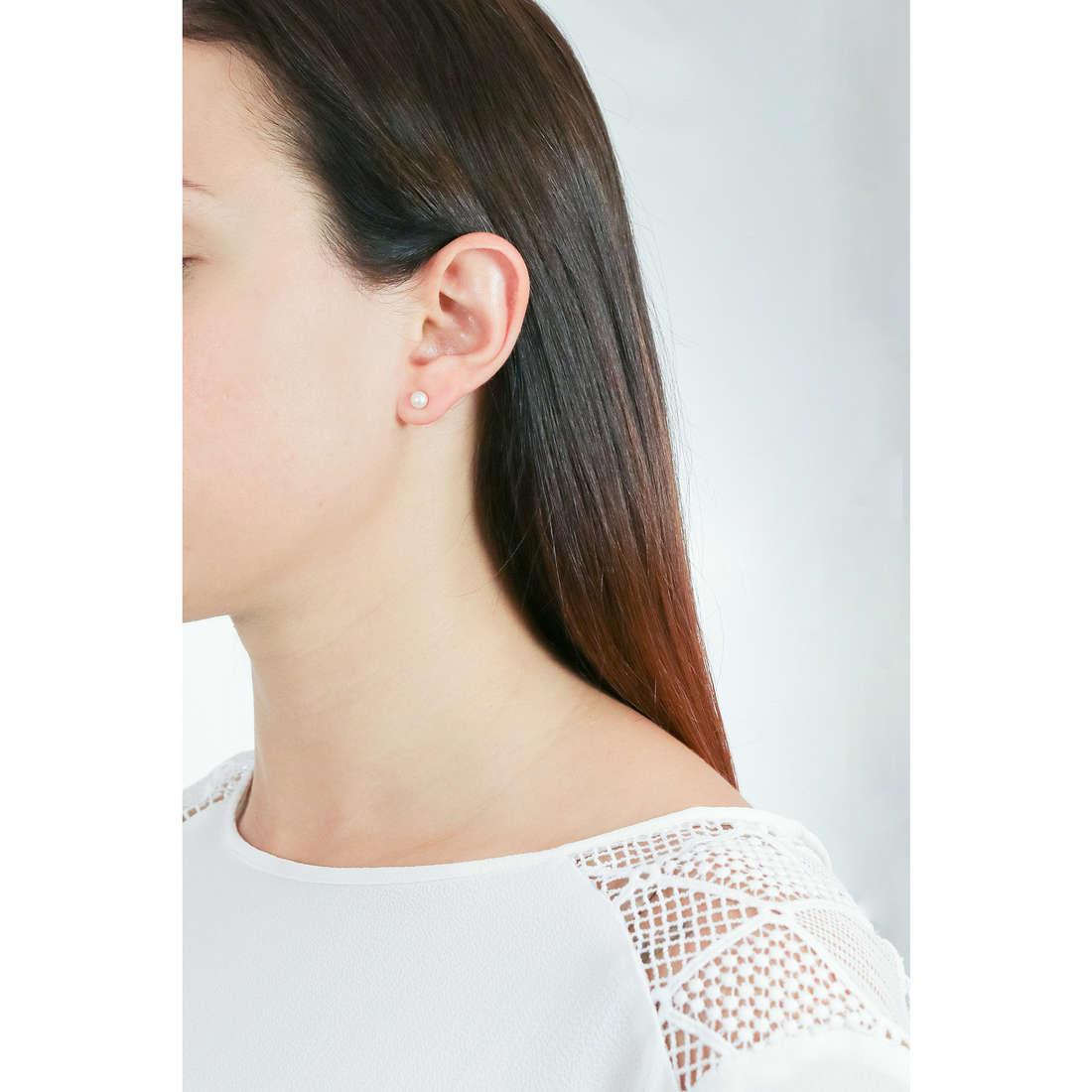 Comete orecchini donna ORP 148 B indosso
