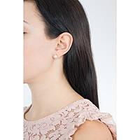 orecchini donna gioielli Comete Perla ORP 545