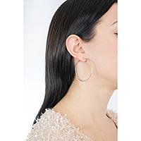 orecchini donna gioielli GioiaPura Fili d'argento WOC00250ES
