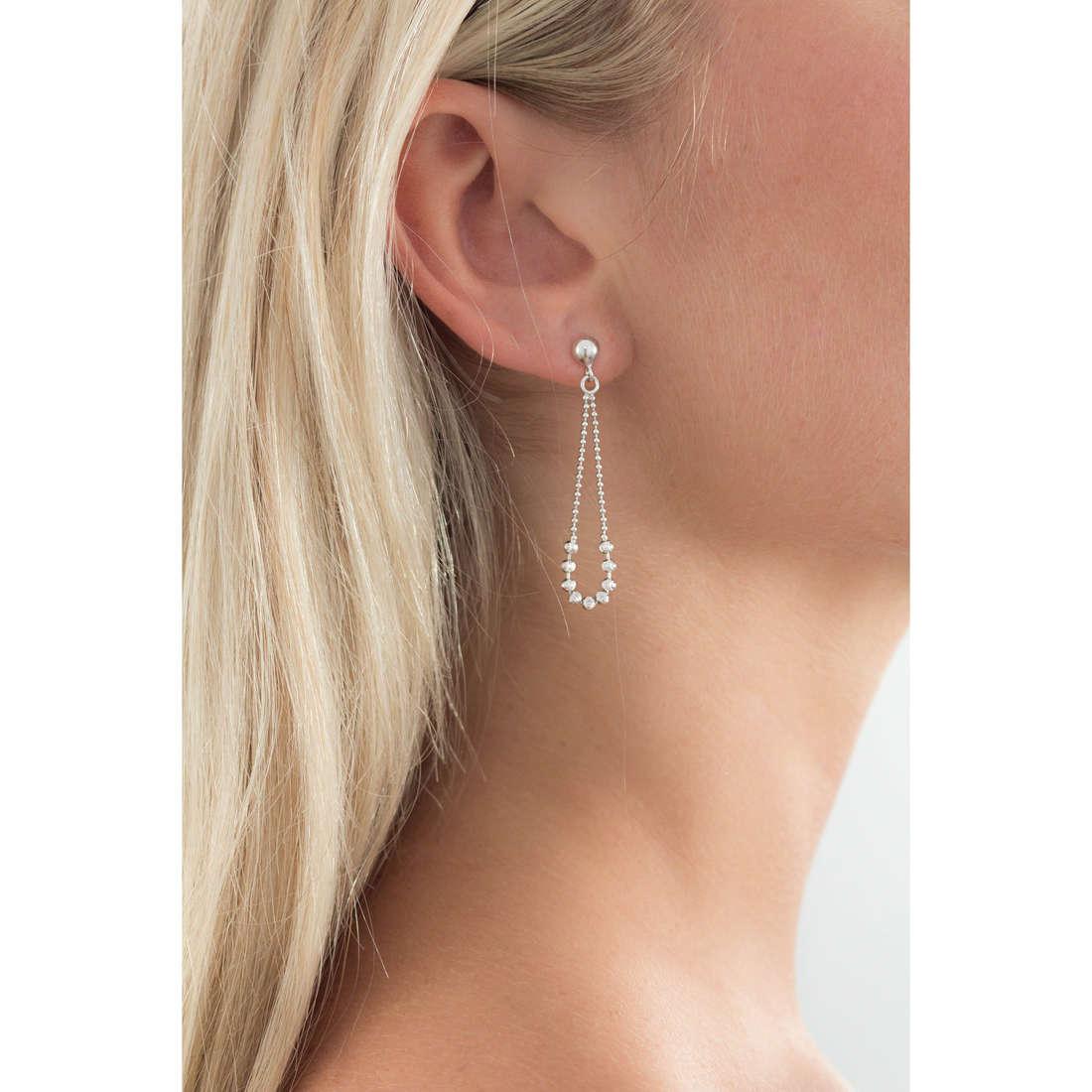 GioiaPura orecchini donna GPSRSOR0741 indosso
