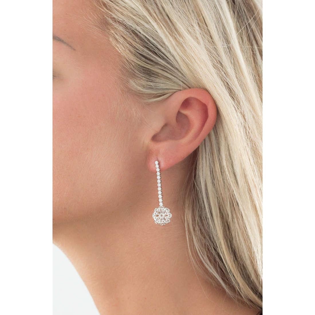 GioiaPura orecchini donna GPSRSOR1205 indosso