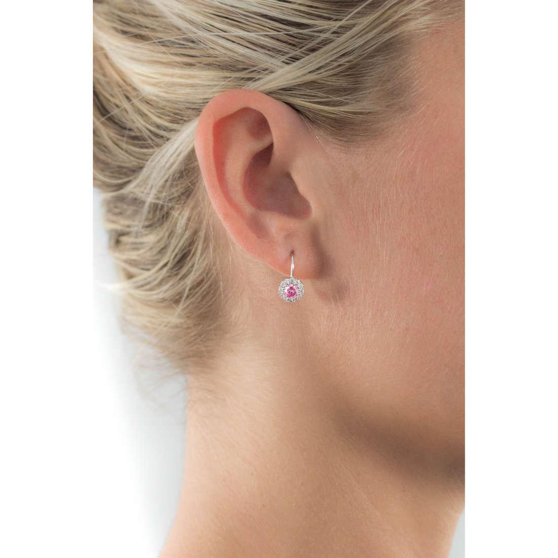 GioiaPura orecchini donna GPSRSOR1548-RS indosso