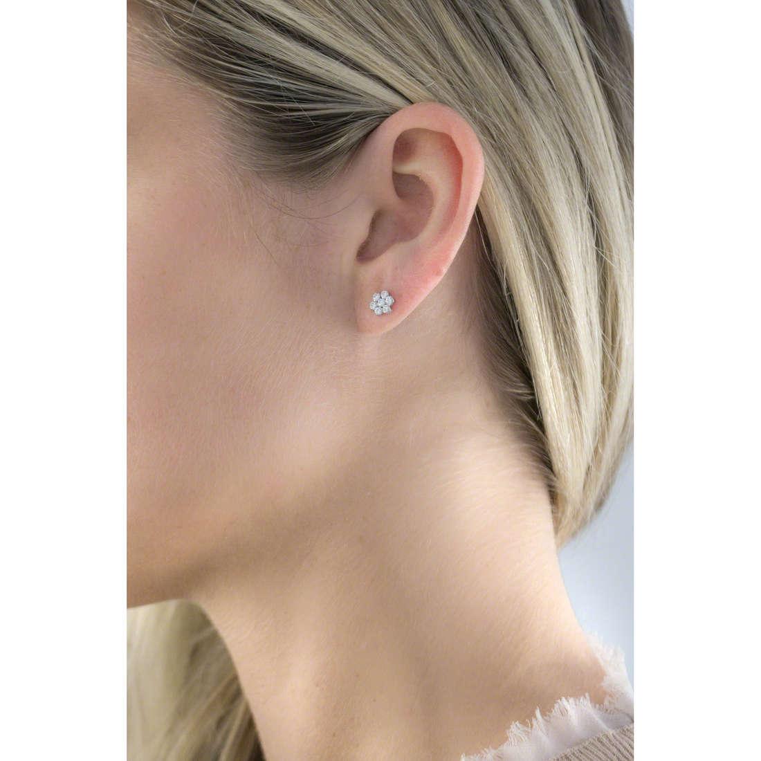 GioiaPura orecchini donna GPSRSOR1560 indosso