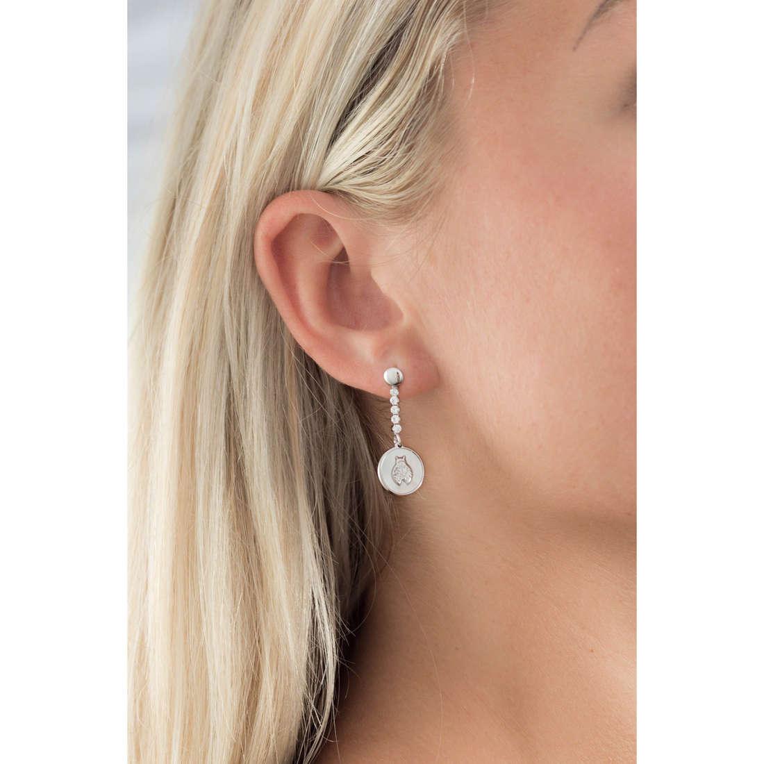 GioiaPura orecchini donna GPSRSOR2140 indosso