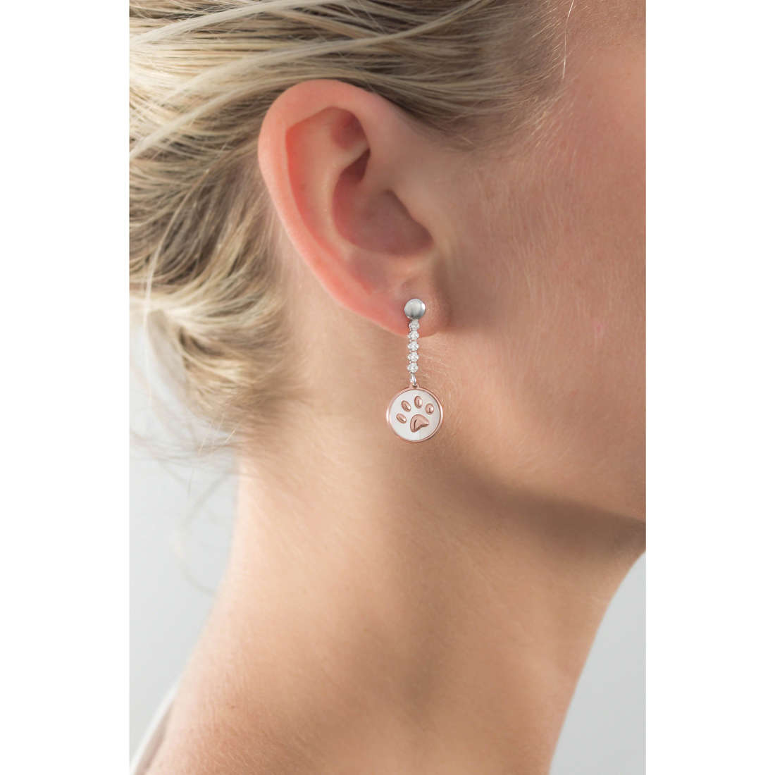 GioiaPura orecchini donna GPSRSOR2141 indosso