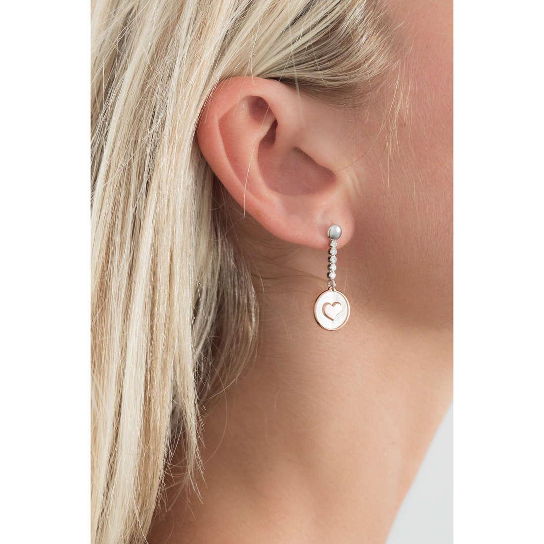 GioiaPura orecchini donna GPSRSOR2142 indosso