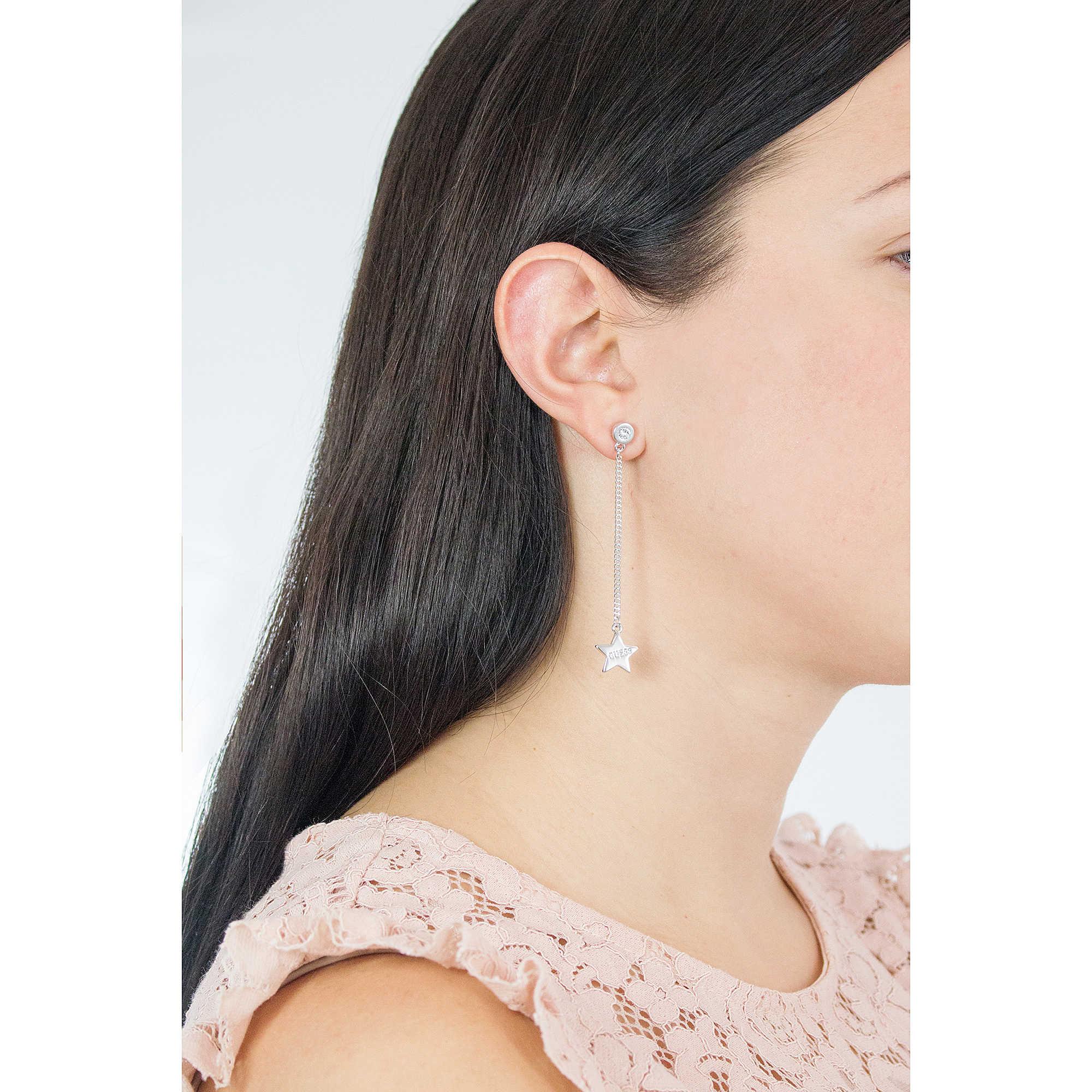 ottenere a buon mercato migliore acquistare orecchini donna gioielli Guess Love Chain UBE84079