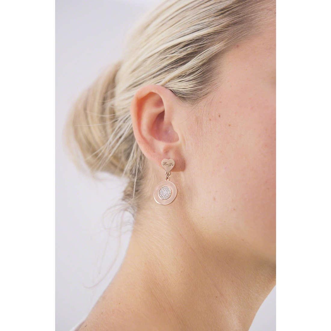 Liujo orecchini Destini donna LJ980 indosso