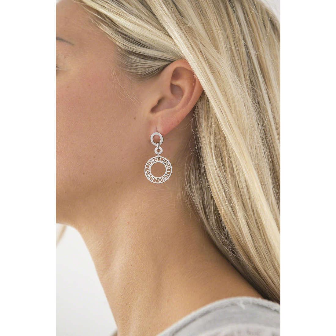 Liujo orecchini Dolceamara donna LJ928 indosso