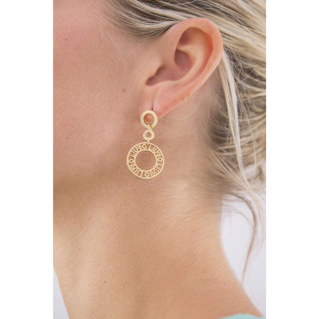 Liujo orecchini Dolceamara donna LJ932 indosso