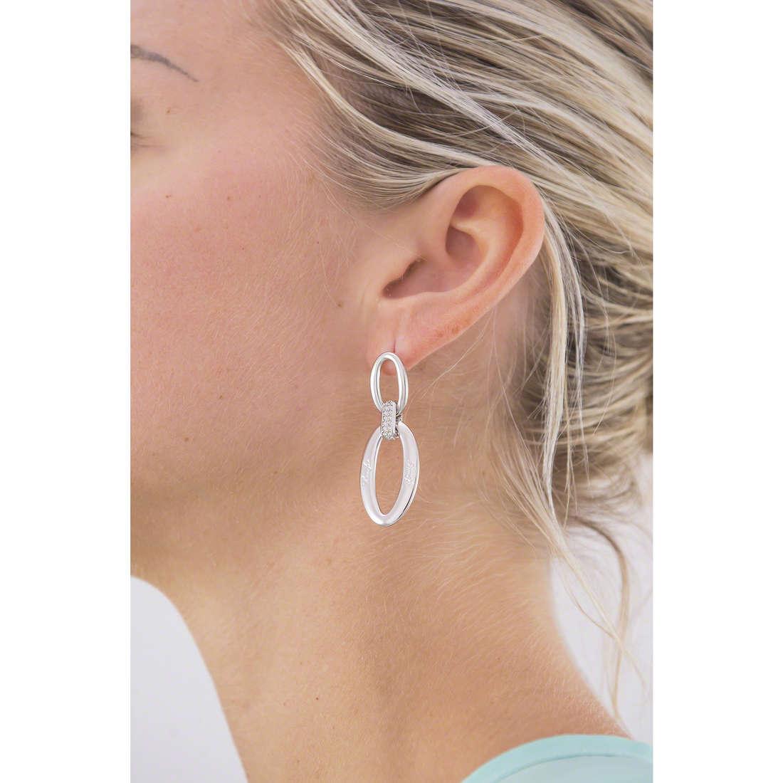 Liujo orecchini Dolceamara donna LJ956 indosso