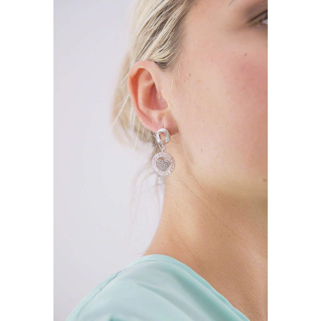 Liujo orecchini donna LJ975 indosso